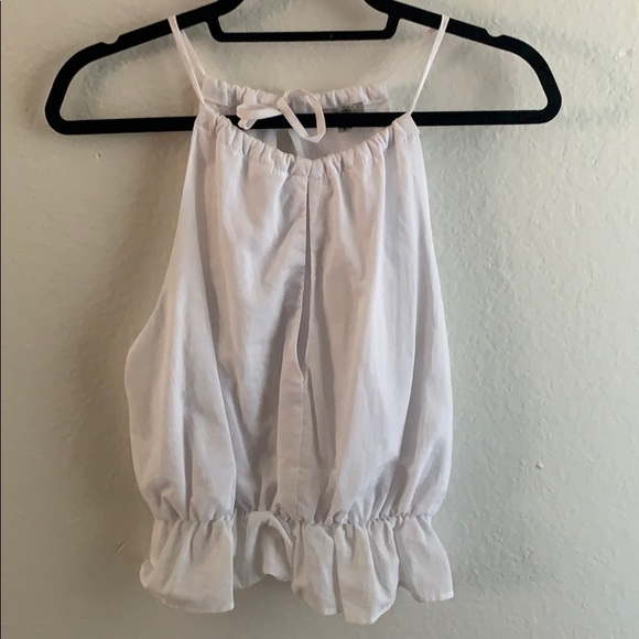 Urban Outfitters Tops - White slit tank
